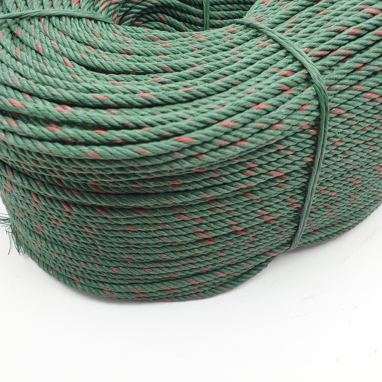 ท่อยางไทย เชือกขี้ม้า 4 มม สีเขียว