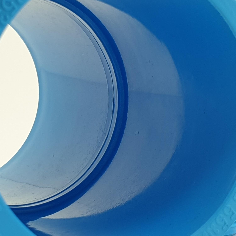 AAA  ข้อต่อตรง  หนา 2 นิ้ว (55) ชั้น 13.5  สีฟ้า