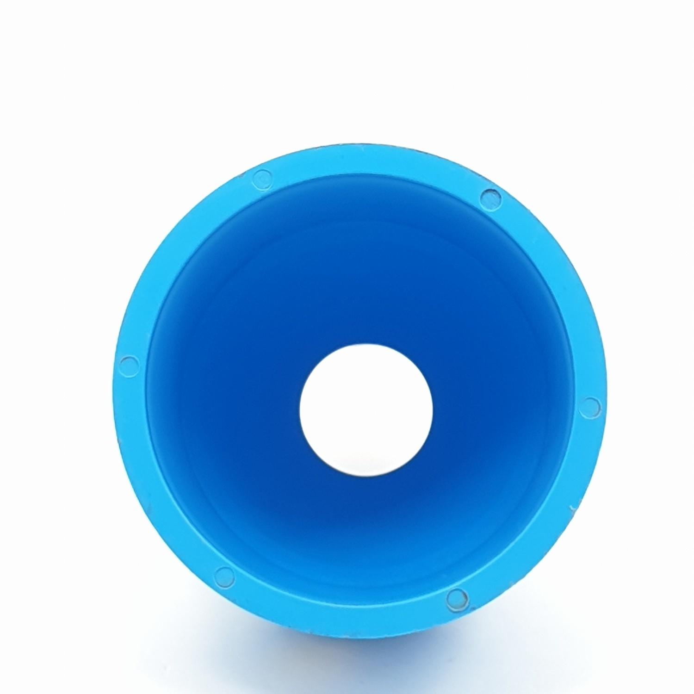 AAA ข้อต่อตรงลด  หนา 4นิ้ว X 1 1/2นิ้ว(100X40) ชั้น 13.5  สีฟ้า