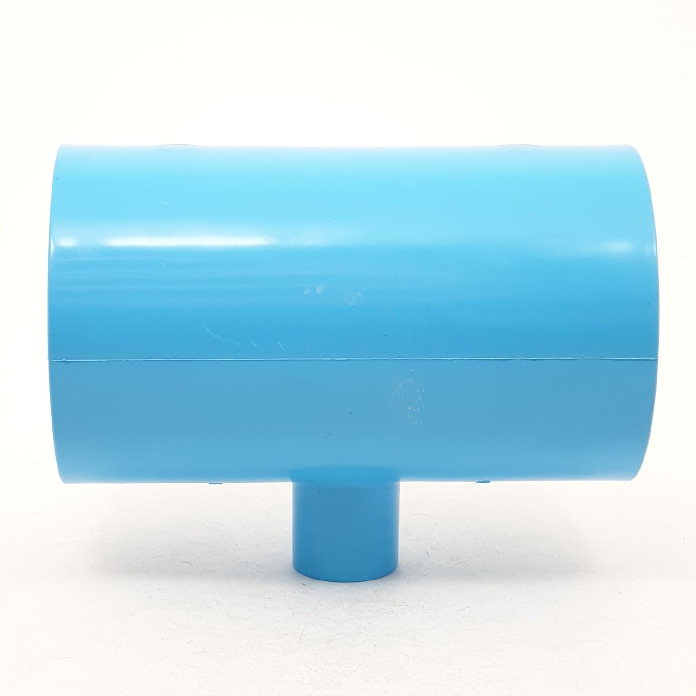 AAA สามทางลด  หนา 3นิ้ว X 3/4นิ้ว (80X20) ชั้น 13.5  สีฟ้า
