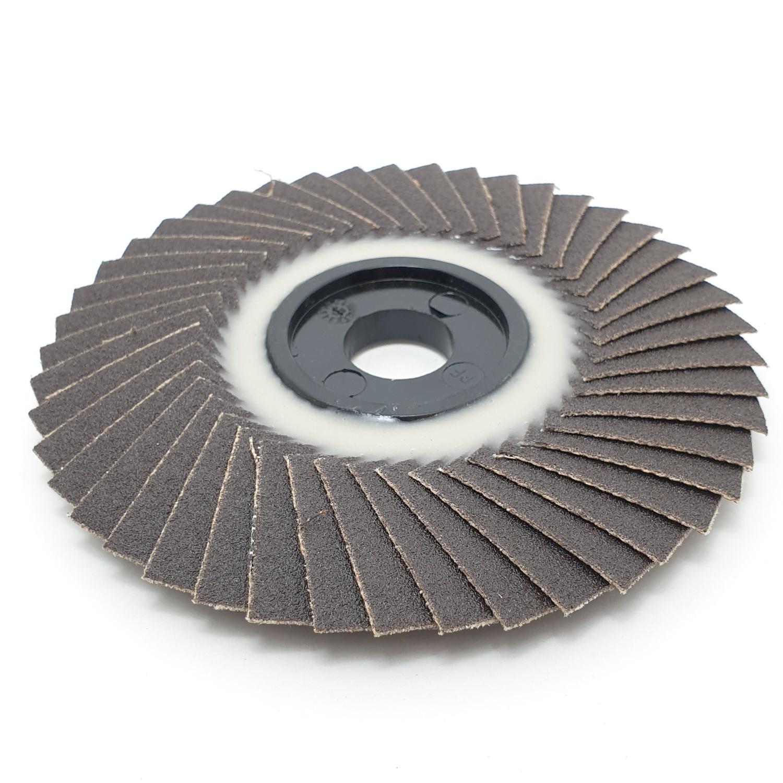 BOSCH กระดาษทรายซ้อนหลังอ่อน 4นิ้ว  P150 สีดำ