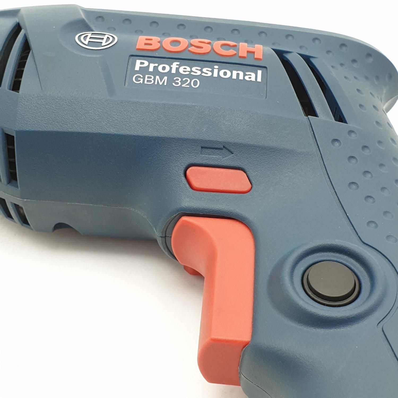 BOSCH สว่านไฟฟ้า 320W. GBM 320
