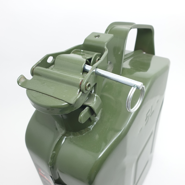 TUF ถังบรรจุน้ำมัน แบบถังเหล็ก ขนาด 5L QH004  สีเขียว