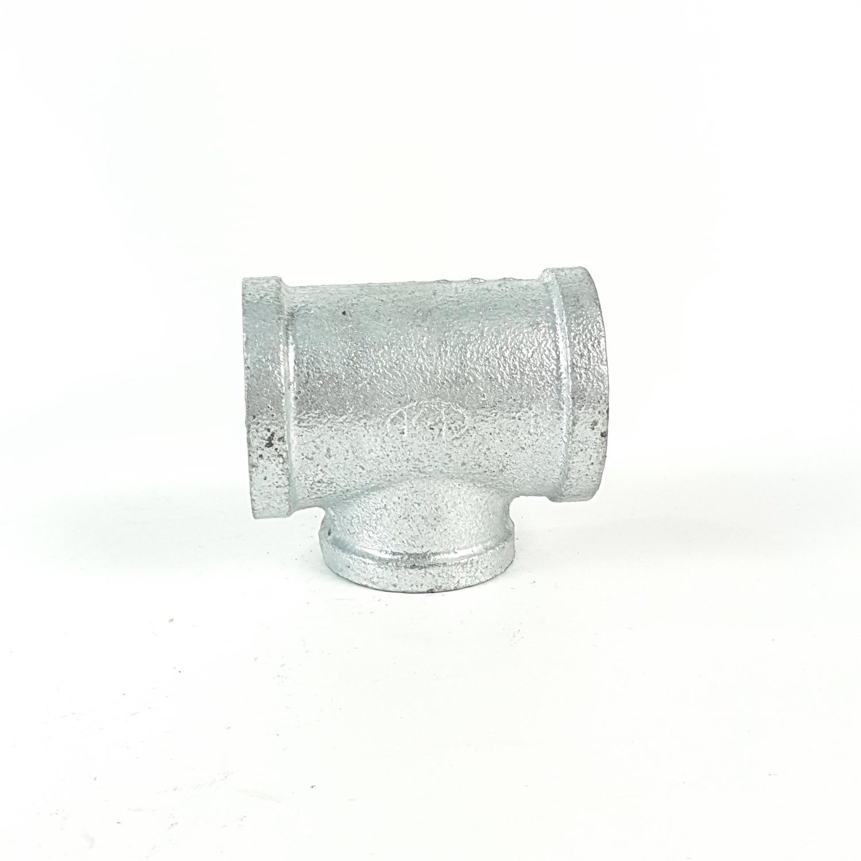 VAVO สามทางลดเหล็ก  1.1/4นิ้วx1นิ้ว
