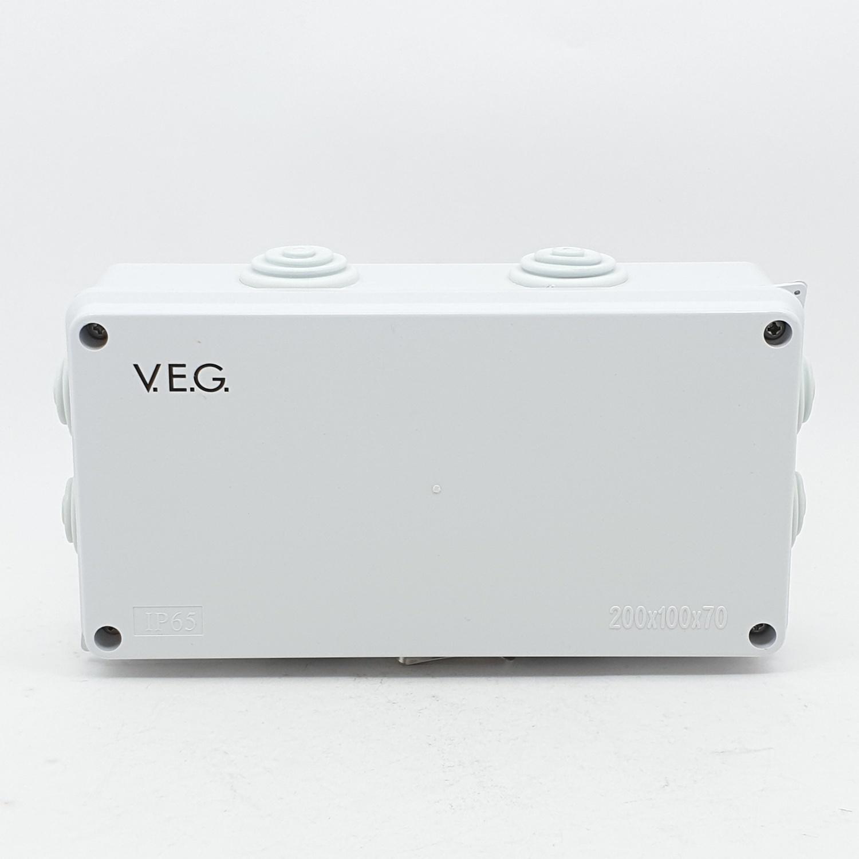 V.E.G กล่องกันน้ำพลาสติก THE-07