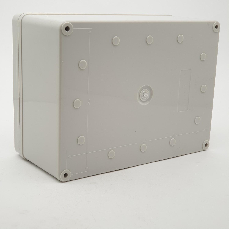 V.E.G กล่องกันน้ำพลาสติก ขนาด 200x200x100mm.  THE-17 สีขาว