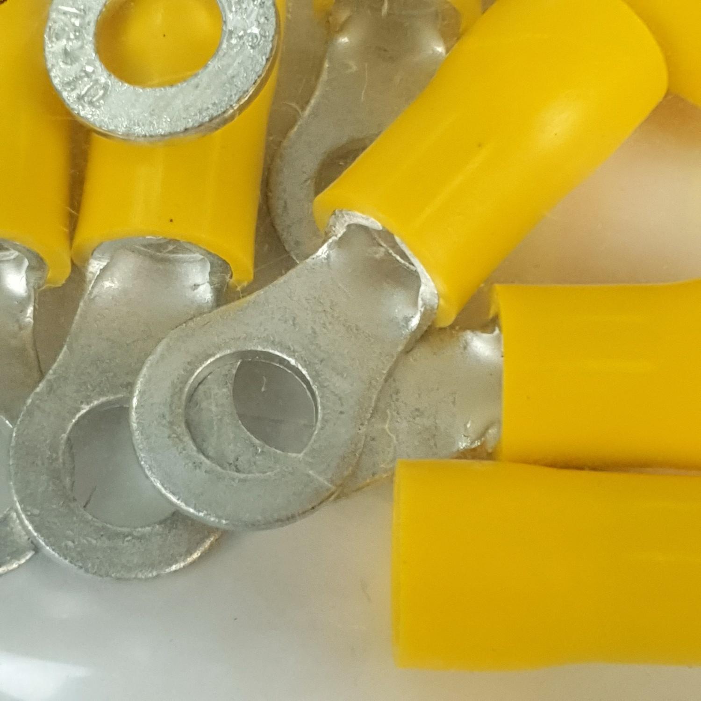 V.E.G หางปลากลมหุ้ม RF6-5  สีเหลือง