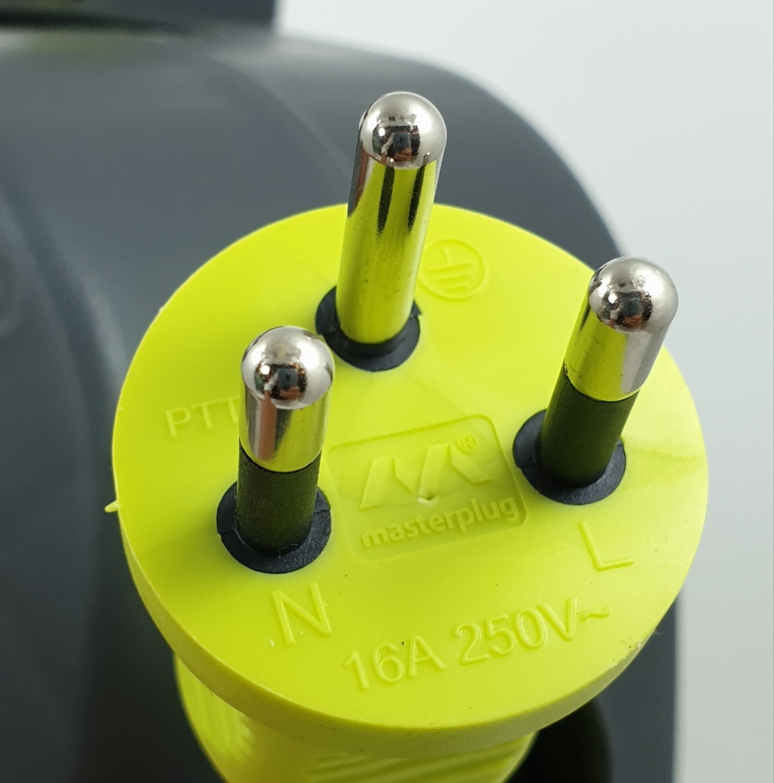 LUCECO โรลสายไฟ 25 เมตร 4 หัว เบอร์ 1.0 mm  HLTH25104SL-GH