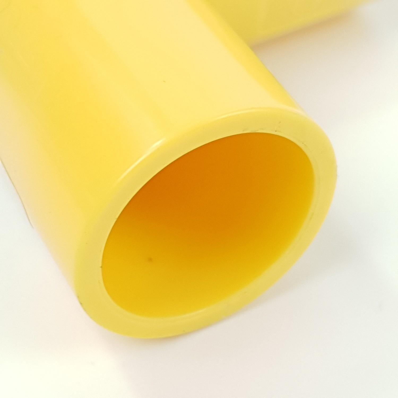 - ข้องอ 90 หนา ขนาด 1/2 นิ้ว - สีเหลือง