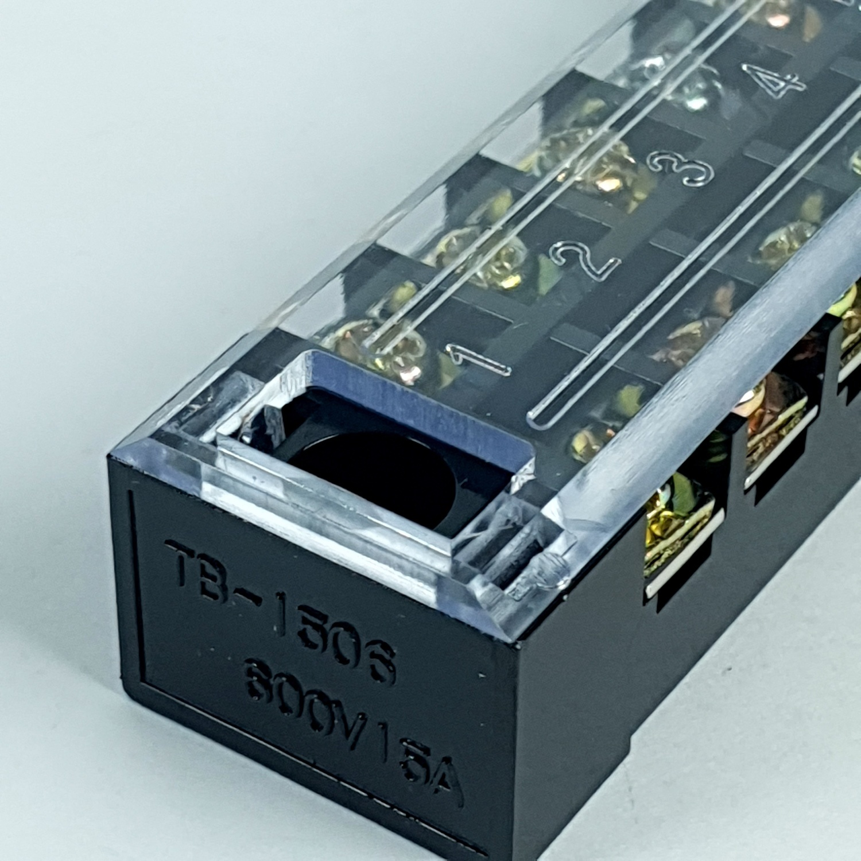 SHINOHAWA เทอร์มินัล ต่อสาย TB-1506 สีดำ
