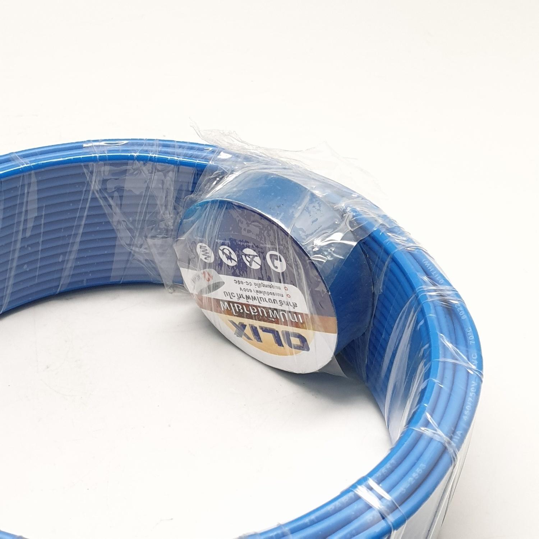 SYLLA สายไฟ 60227 IEC01  THW 1x1.5 Sq.mm.30m. สีฟ้า