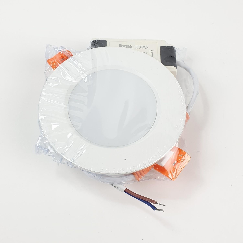 SYLLA ดาวน์ไลท์ฝังฝ้า แบบกลม Φ70 mm   5W Die-casting ultra-thin
