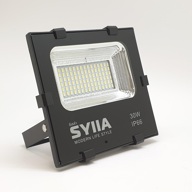 SYIIA โคมฟลัดไลท์ LED  เดย์ไลท์ HQ-LT30WTGD65 สีดำ