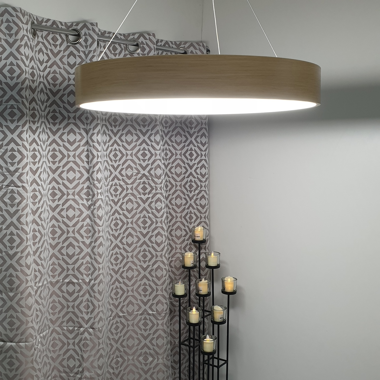 V.E.G โคมไฟห้อย LED  36W วอร์มไวท์  ซิลล่า  MYX6808/36W