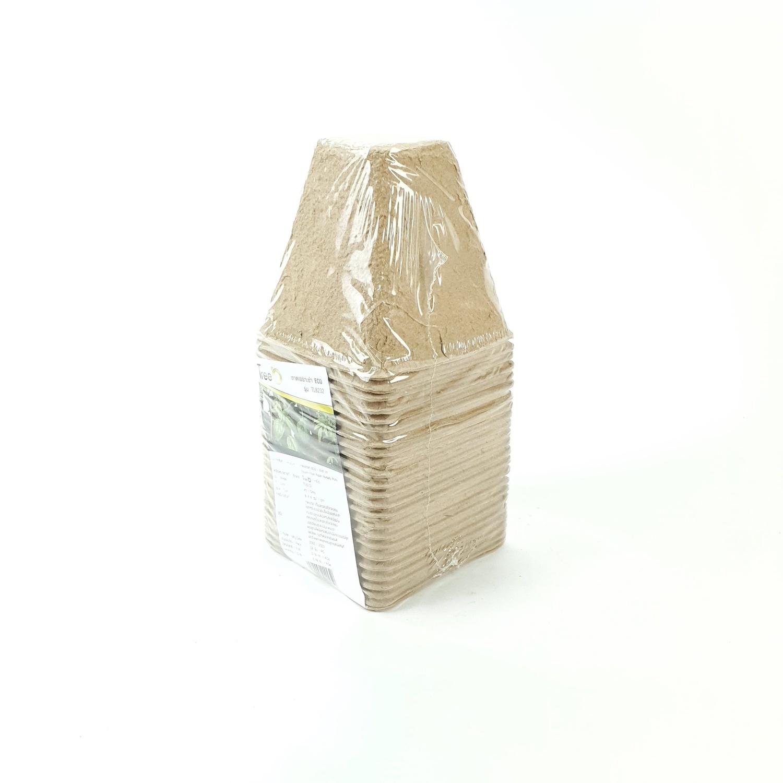 Tree O ถาดเพาะชำกระดาษขนาด 8x8 ซม. TL8232