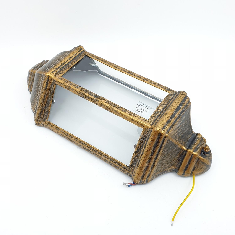 EILON โคมไฟผนัง  สีดำทอง  5005-W