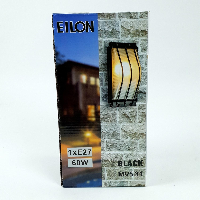 EILON โคมไฟผนัง MV531 สีดำ