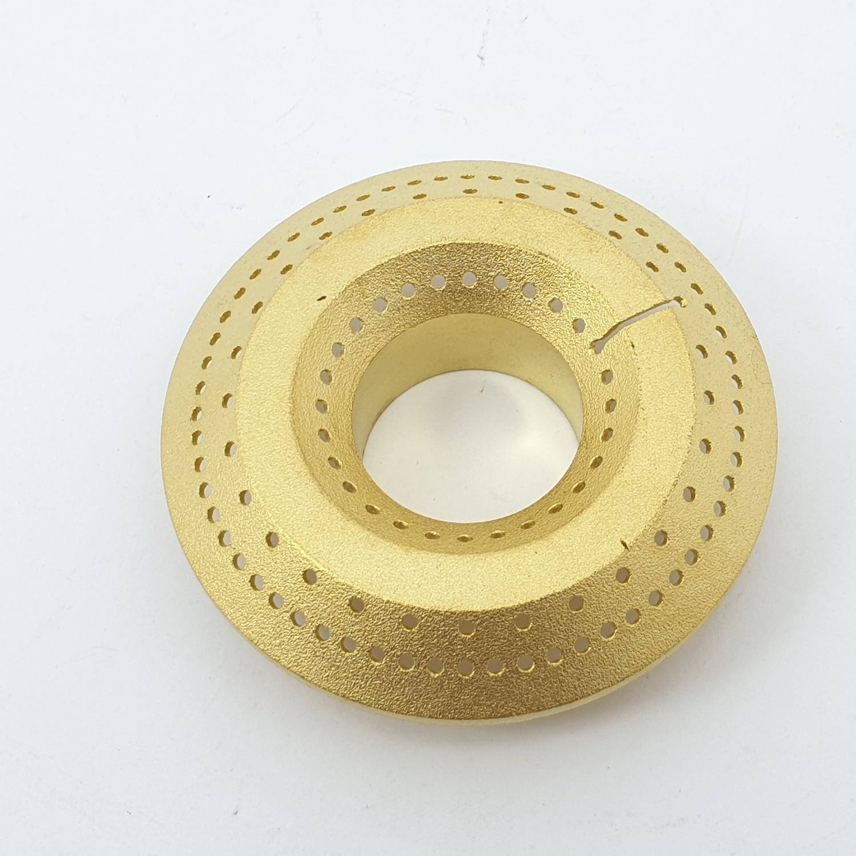 CLOSE ฝาเฟืองทองเหลืองสำหรับเตาแก๊ส  G055-BR (Ø70mm)  สีทอง