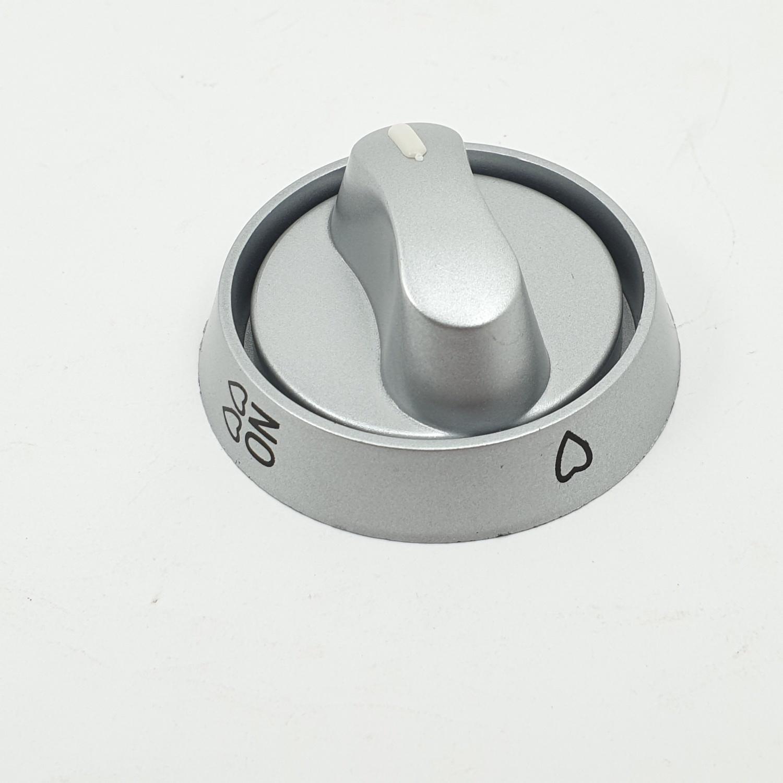 CLOSE ปุ่มเปิด-ปิดเตาแก๊ส  XN10 สีเงินเทา