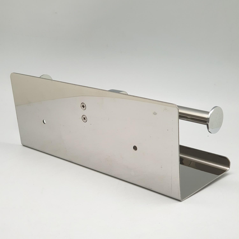 VERNO ที่ใส่กระดาษชำระสเตนเลสสองแกน พร้อมที่วางของ AK57