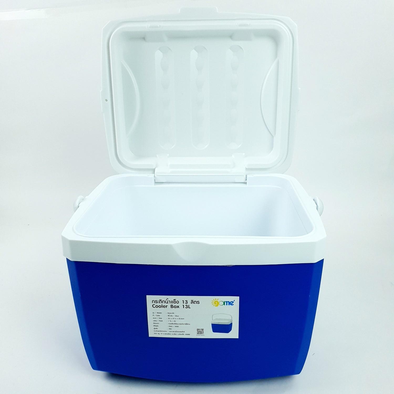 GOME กระติกน้ำแข็ง ขนาด 13 ลิตร Neva-04 สีน้ำเงิน