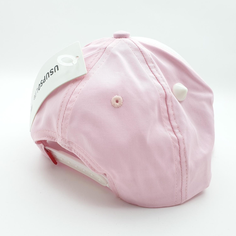 USUPSO หมวกแก๊ปการ์ตูน - สีชมพู