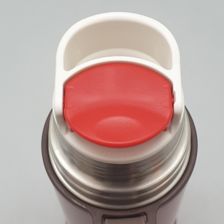 USUPSO  แก้วมักฝาสเตนเลส 350ml.  - สีแดง