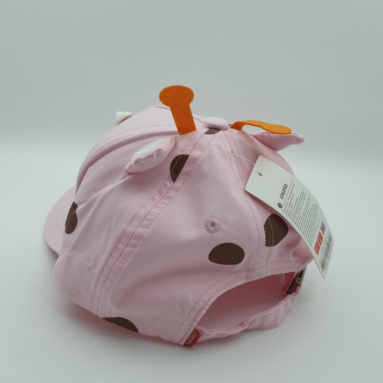USUPSO  หมวกเด็ก  calf  สีชมพู