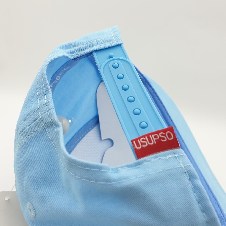 USUPSO หมวกแก๊ปเด็กหมีน้อย - สีฟ้า