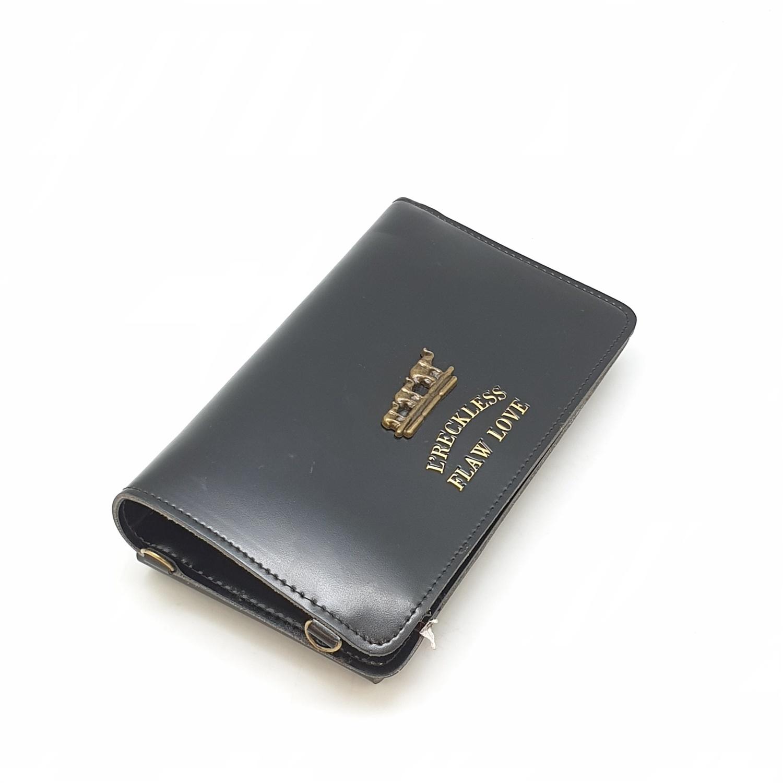 USUPSO กระเป๋าใส่โทรศัพท์ สีดำ