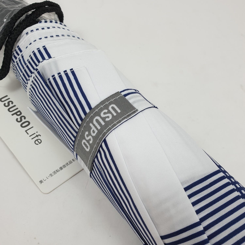 USUPSO ร่มพับ  LOVE 8K  สีน้ำเงิน