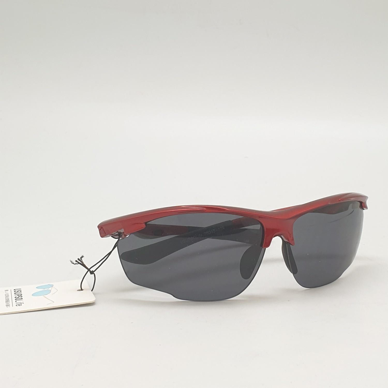 USUPSO แว่นตากันแดด Trendy sport - สีแดง