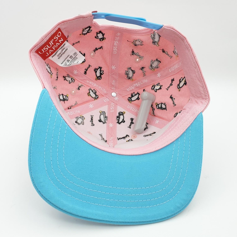 USUPSO หมวกเด็กเพนกวินน้อย - สีชมพู