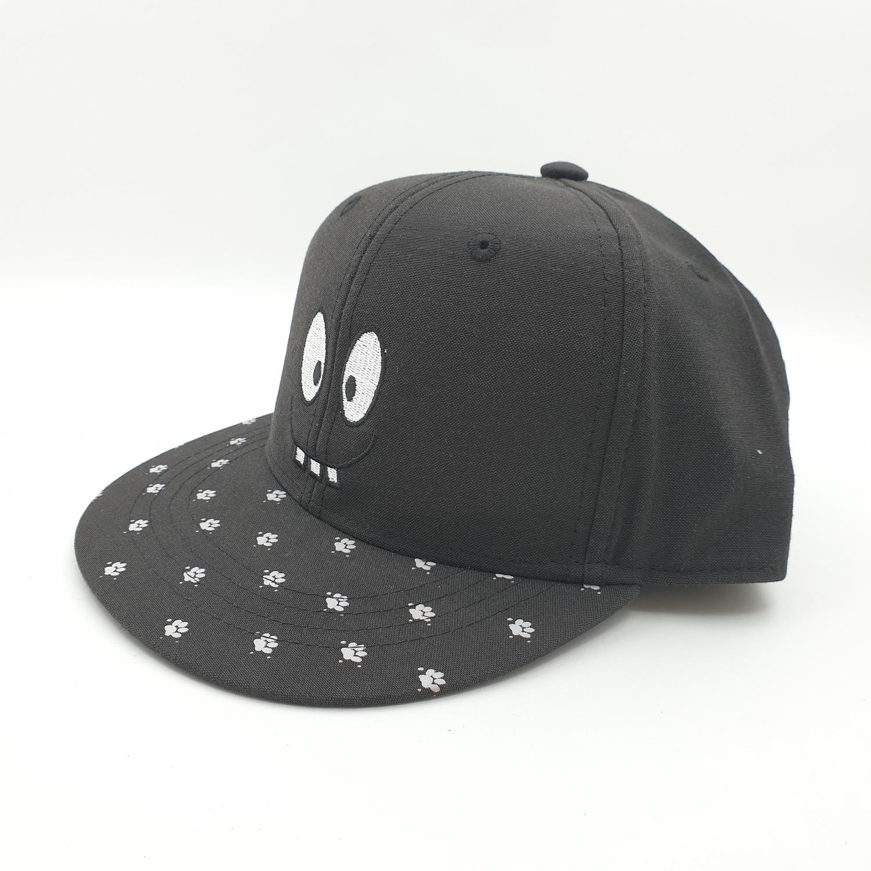 USUPSO  หมวกเด็กลายน่ารัก สีดำ - สีดำ