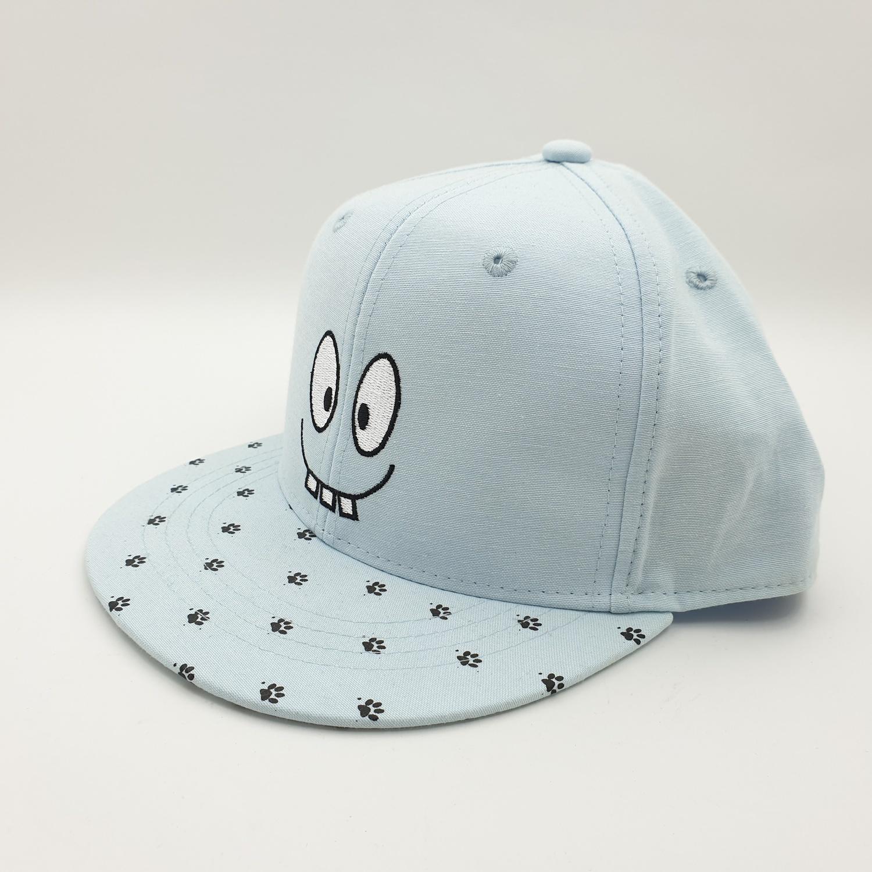 USUPSO หมวกเด็กลายน่ารัก สีฟ้า - สีฟ้า