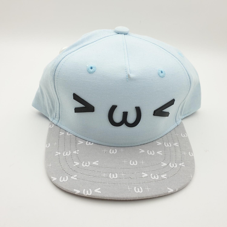 USUPSO  หมวกเด็กลายน่ารัก  - สีฟ้า
