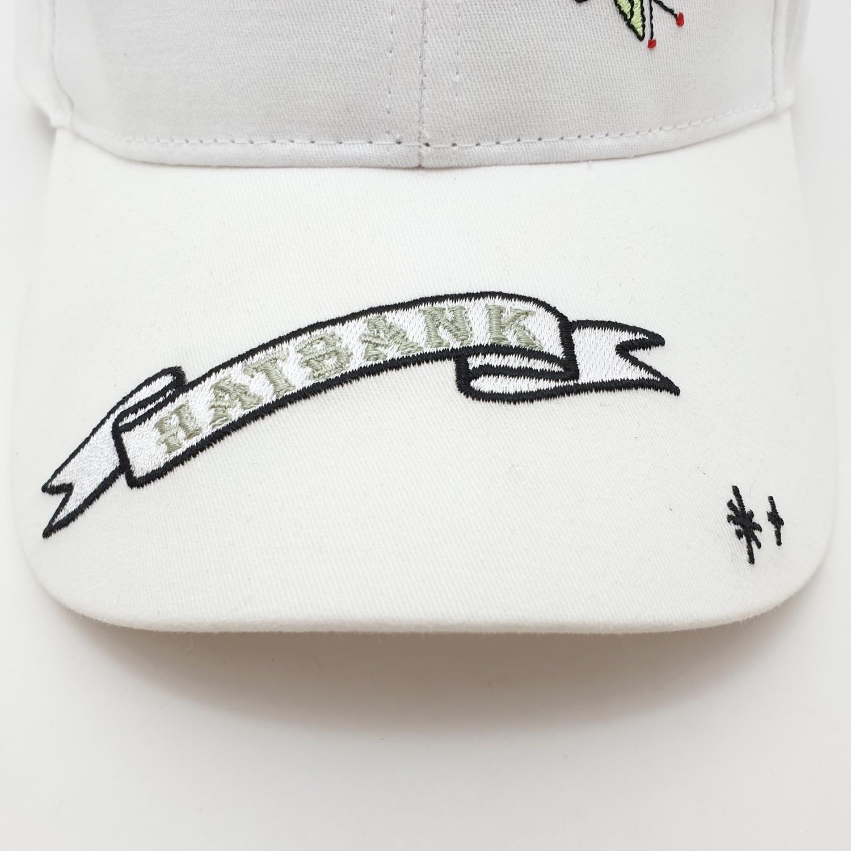USUPSO หมวกแค้ป Baseball  - สีขาว