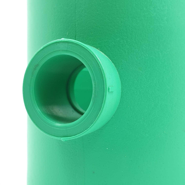 ERA ข้อต่อสามทางลด  (63mm)x(20mm)  PPR สีเขียว