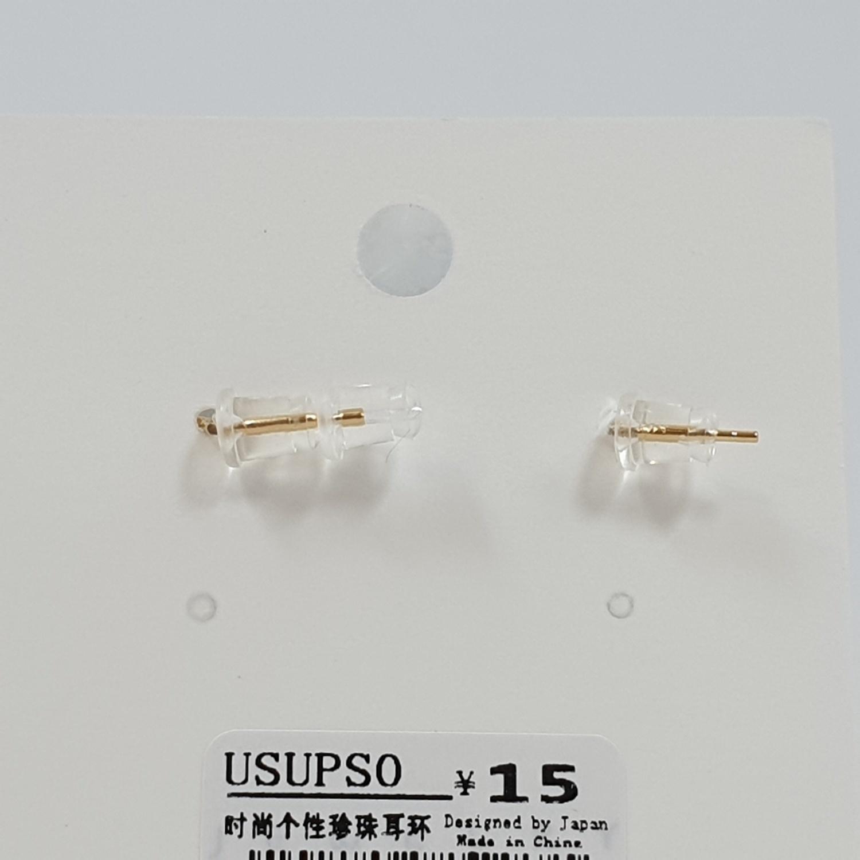 USUPSO USUPSO ต่างหูแฟชั่น 1035 (#AA5)  ขาว