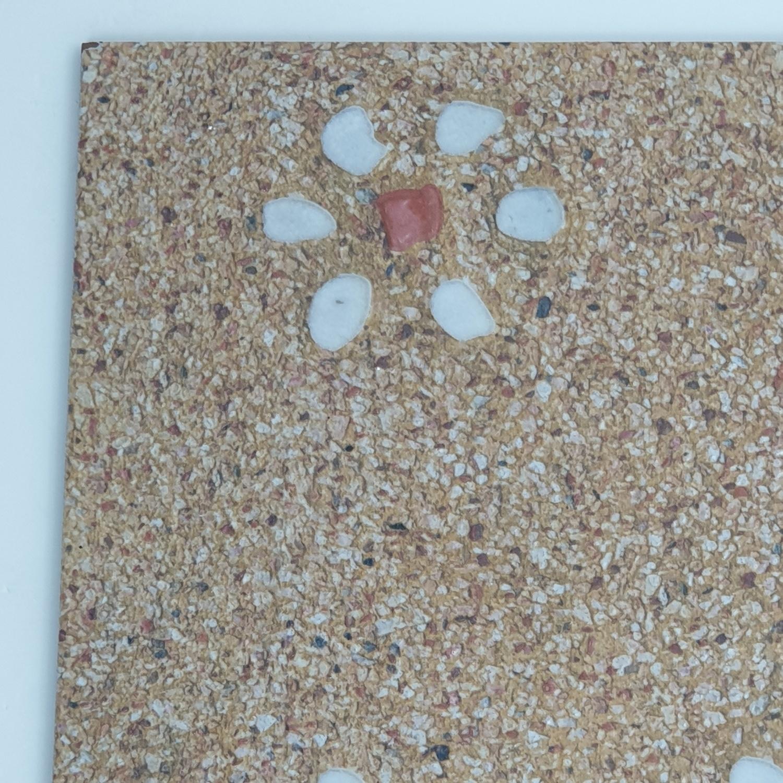 Sosuco กระเบื้องปูพื้นหน้าหยาบ 12x12 ลูซาเต้  (ดิจิตอล) A. สีน้ำตาล
