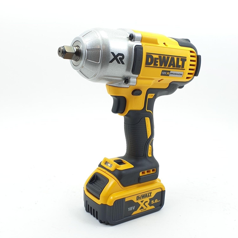 DeWALT บล็อกไฟฟ้าไร้สาย 18V  DCF899HP2-KR สีเหลือง