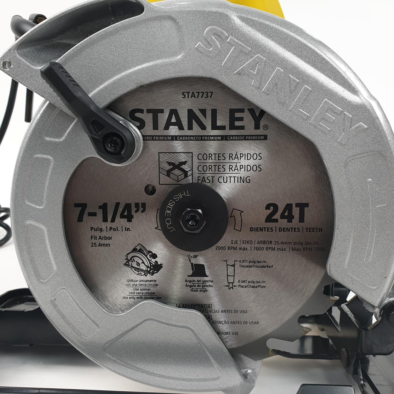 STANLEY เลื่อยวงเดือน 7นิ้ว 1600W  SC16-B1 สีเหลือง