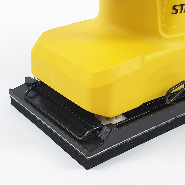 STANLEY เครื่องขัดกระดาษทราย 280W  SS28-B1 สีเหลือง