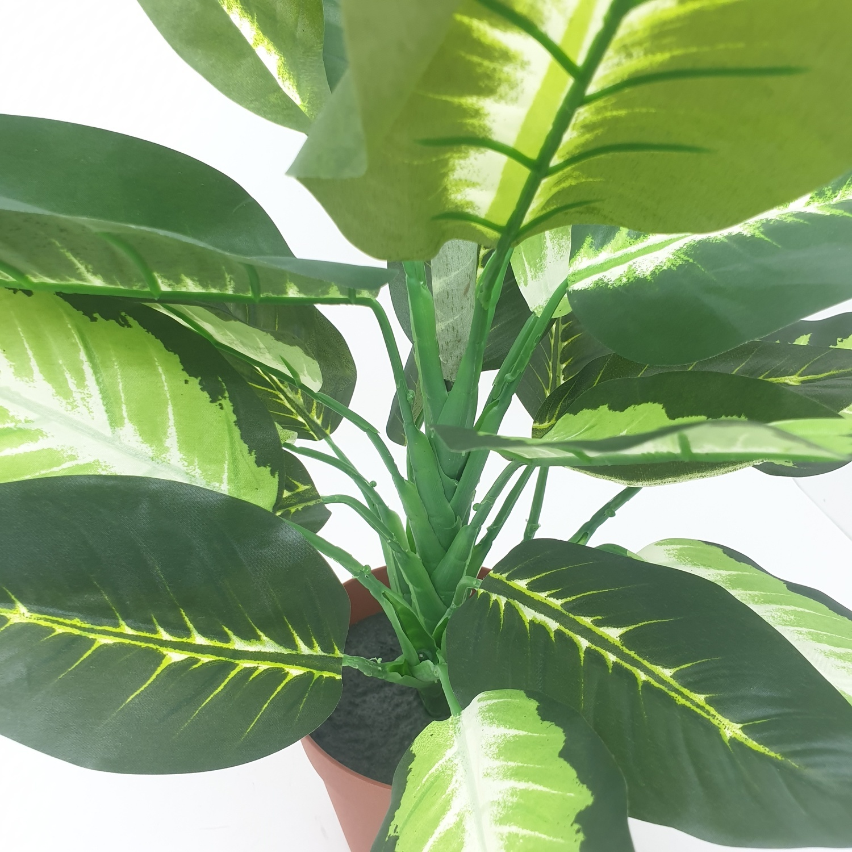ต้นสาวน้อยประแป้งประดิษฐ์ สูง 40CM AL17T093 เขียว