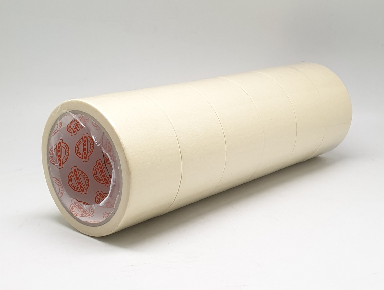 OHO เทปกาวย่น 36มม.x20หลา (6ม้วน/แพ็ค) GF - MT
