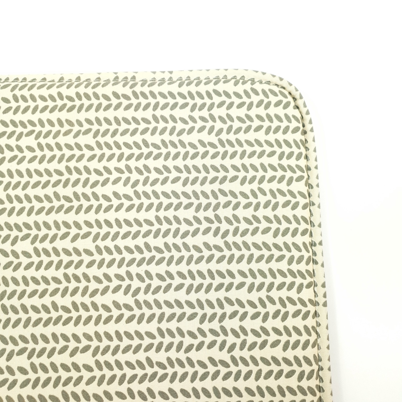 COZY เบาะรองนั่งสี่เหลี่ยม ขนาด40×40×2ซม. สีเขียว