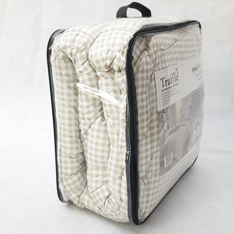 Truffle ชุดผ้าปูที่นอน กาลิโต้ 6 ชิ้น ขนาด 6 ฟุต FSS6-607