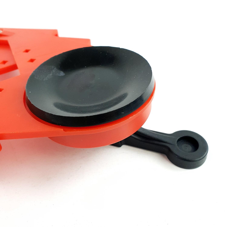 VINON TOOLS ตัวนำโฮลซอเจาะกากเพชร 3 (6-83มม.) 6614091600 สีแดง