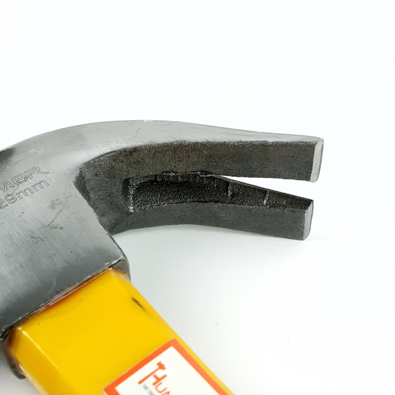 HUMMER ค้อนหงอนด้ามไฟเบอร์หัวตรง รุ่น ZH0043 29 มิลลิเมตร 24 ออนซ์ 29MM(24 oz)