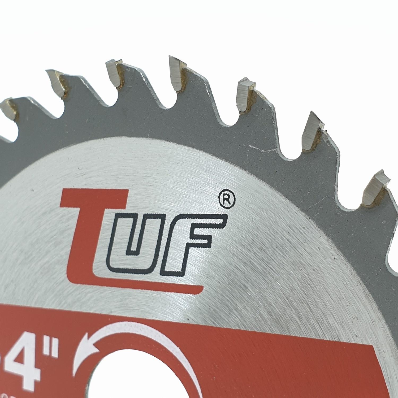 TUF ใบเลื่อยวงเดือน DTSB108 4นิ้วx30Tx1.3x1.8x20-18mm DTSB108 4
